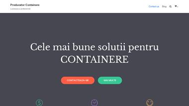 Producator containere de locuit, birou sau afaceri