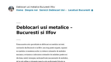 Deblocari usi non stop Bucuresti si Ilfov