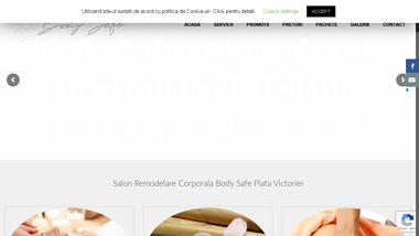 Salon remodelare corporala Piata Victoriei. Salon Masaj Body Safe