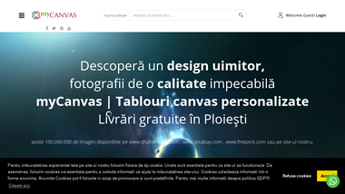 myCanvas - Tablouri canvas personalizate