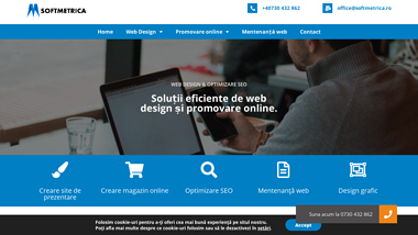 Web Design Bacau - Softmetrica