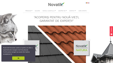 Novatik - Producator tigla metalica si tabla prefaltuita