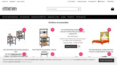 Magazin online mic mobilier din metal si lemn stil retro/industrial