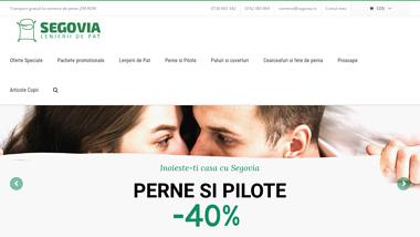 Magazin Online cu Lenjerii de pat din bumbac 100%