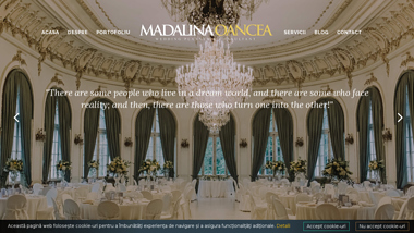 Madalina Oancea - Wedding Planner & Consultant