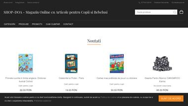 Magazin Online cu Articole pentru Copii si Bebelusi