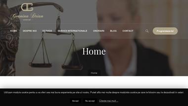 Avocat Geanina Drian Iasi | Specializat Divort, Partaj, Minori, Paternitate, Transcriere