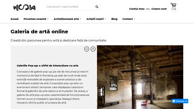 Galeria de arta online: MOOSA