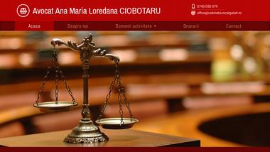 Cabinet Avocat Galati-Avocat Ana Maria Loredana CIOBOTARU