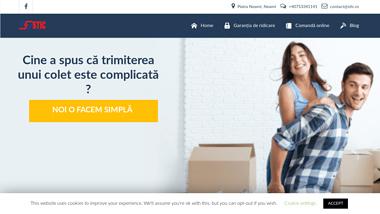STIC Transport Colete, Autoturisme, Marfa Paletizata Romania - Anglia