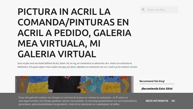 Pictura in acril la comanda