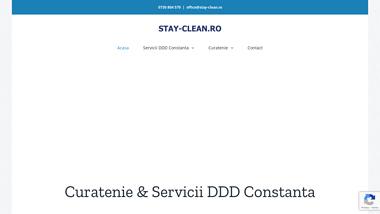 Stay-Clean.ro - Curatenie & Servicii DDD Constanta