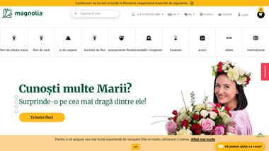 Florăria online Magnolia - Livrare flori la domiciliu