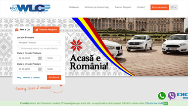Inchirieri masini aeroport Timisoara