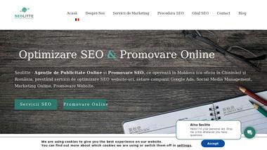 Agenția SEOLITTE - optimizare SEO ce te aduce în TOP 5 Google