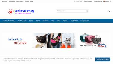 Magazin online pentru animale de companie