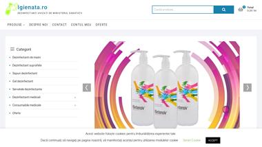 Oferta la produse antibacteriene avizate de Comisia nationala pentru produse biocide
