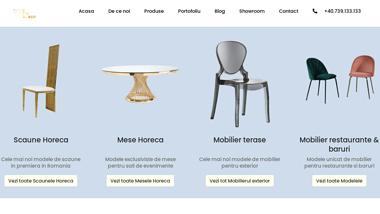 WeDeco - mobilier horeca de calitate superioara pentru interior si exterior