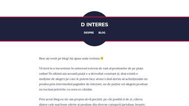 D INTERES