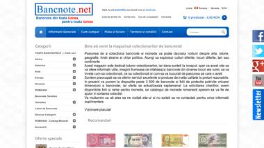 Bancnote romanesti si straine de vanzare