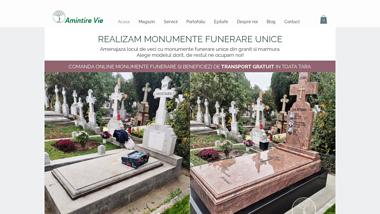 Fabrica de Monumente Funerare - Amintire Vie - Bucuresti