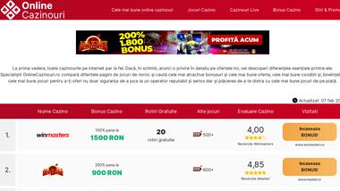Online Cazinouri