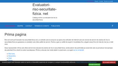 Evaluator-risc-securitate-fizica.net