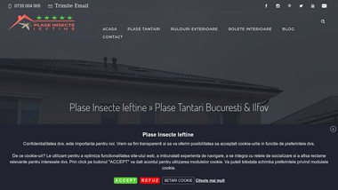 Plase Insecte Ieftine » Plase Tantari Bucuresti & Ilfov