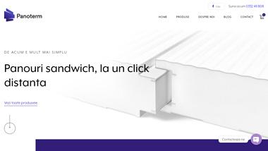 Panouri sandwich, la un click distanta