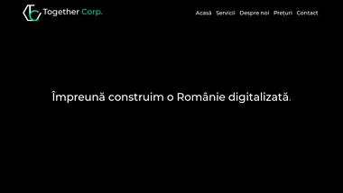 Together Corp. - Servicii web design Bucuresti-Brasov-Bacau-Romania