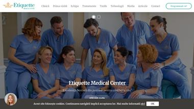Etiquette Medical Center clinica stomatologica Targoviste