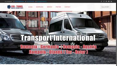 Transport persoane si colete romania germania si retur