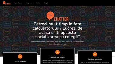 chatter.ro - Este timpul sa iti faci prieteni noi