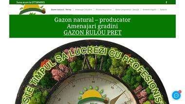 Gazon natural - producator