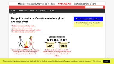 Birou de mediator in Timisoara Servicii de mediere Matei Bite